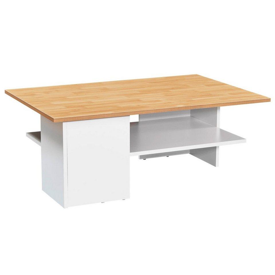 FINEBUY Couchtisch »SuVa45_45«, Design Couchtisch 45x45x45 cm  Wohnzimmertisch mit Ablage Sofatisch Groß Tisch mit Stauraum online kaufen   OTTO