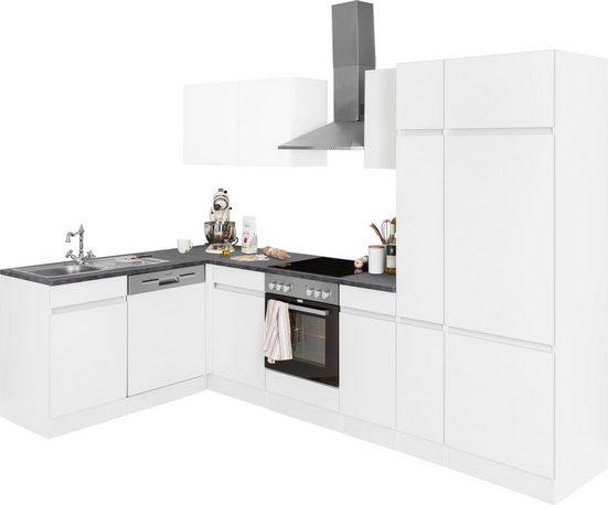 OPTIFIT Winkelküche »Roth«, mit E-Geräten, Stellbreite 300 x 175 cm