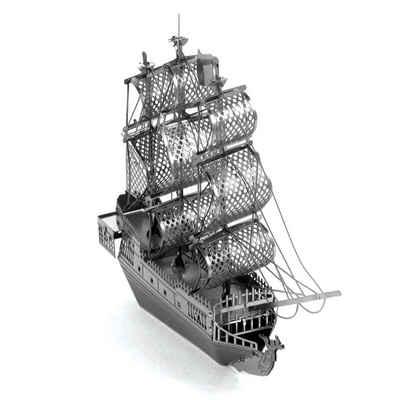 Metal Earth® Modellbausatz »The Black Pearl / Die Schwarze Perle Schiff - detailreicher Metall-Bausatz«