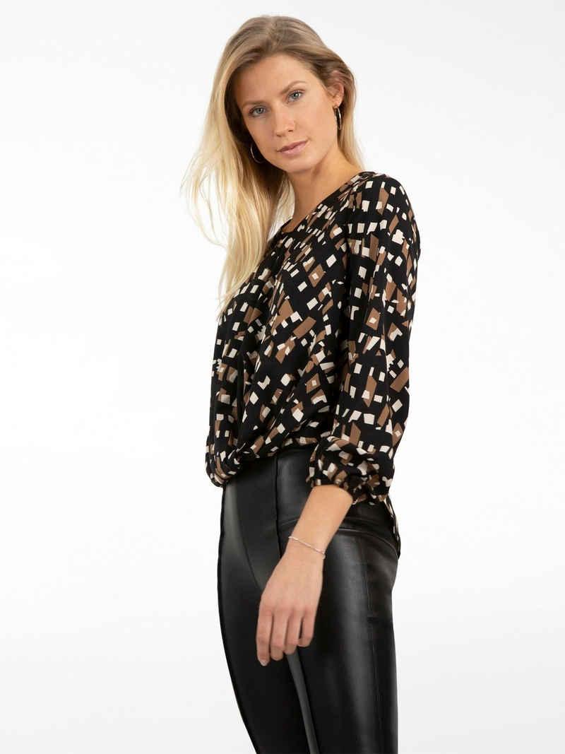 Apart Klassische Bluse aus leicht körnigem Georgette