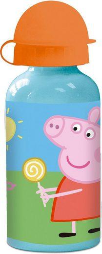 p:os Trinkflasche »Alu-Trinkflasche Peppa Pig, 400 ml«