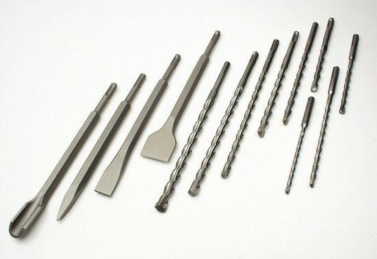 Brueder Mannesmann Werkzeuge Bohrer-und Meißelsatz »SDS-Plus (13-tlg.)«