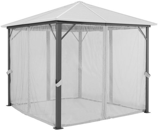 KONIFERA Pavillonseitenteile »Barbados«, mit 4 Seitenteilen, BxL: 300x300 cm