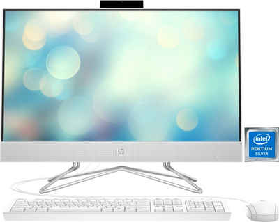 HP Pavilion 24-df0022ng All-in-One PC (23,8 Zoll Intel Pentium Silver J5040, UHD Graphics 605, 8 GB RAM, 512 GB SSD)