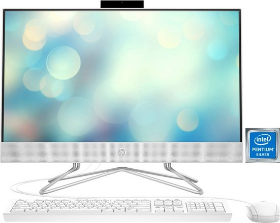 HP Pavilion 24-df0022ng All-in-One PC (Intel Pentium Silver, 605, 8 GB RAM, 512 GB SSD, inkl. Office-Anwendersoftware Microsoft 365 Single im Wert von 69 Euro)