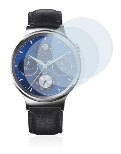 BROTECT Schutzfolie »Panzerglasfolie für Huawei Watch Classic«, (3 Stück), Schutzglas Glasfolie klar