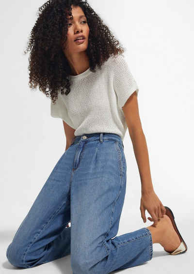 comma casual identity 5-Pocket-Jeans »Jeans aus leichtem Lyocell-Denim«