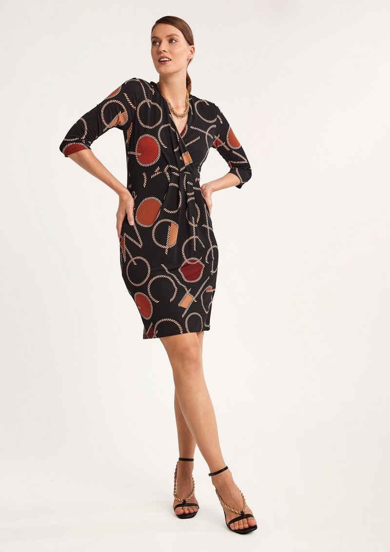 Comma Minikleid »Kurzes Kleid mit Allovermuster«
