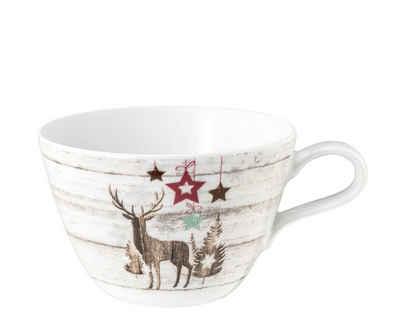 Seltmann Weiden Tasse »Milchkaffeeobertasse Life Christmas«, Porzellan