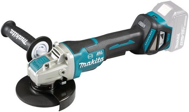 Makita Akku-Winkelschleifer DGA519Z , max. 8500 U min, X-Lock, ohne Akku und Ladegerät
