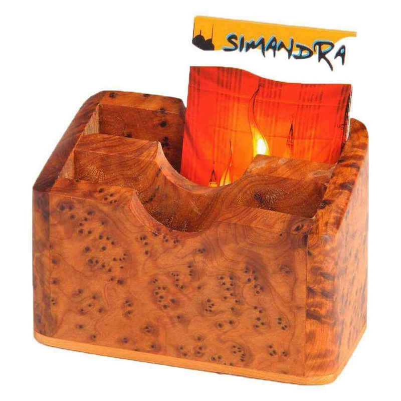 SIMANDRA Zettelkasten »Visitenkarten Box«