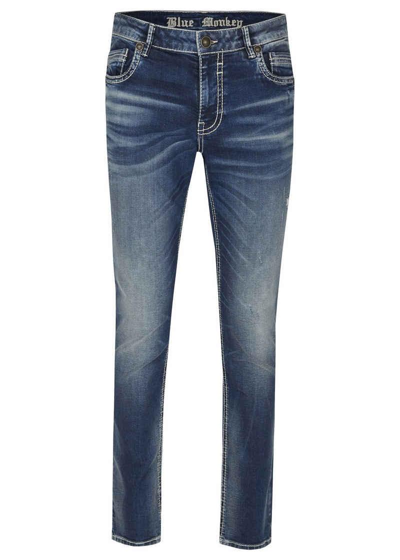 Blue Monkey Slim-fit-Jeans »Freddy« (1-tlg)