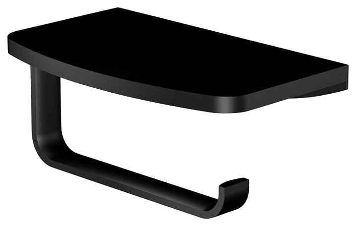 Steinberg Toilettenpapierhalter »Papierhalter matt schwarz Serie 450«, aus Messing Matt Schwarz