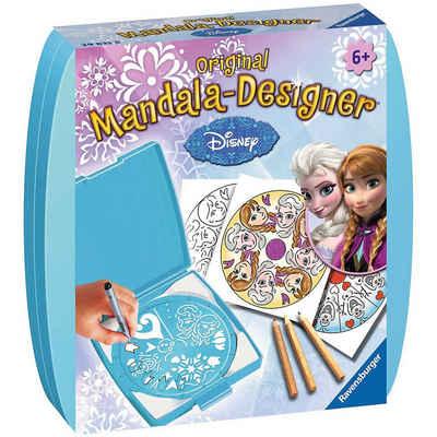 Ravensburger Malvorlage »Mandala-Designer® Mini Set mit 1 Schablone, Disney«
