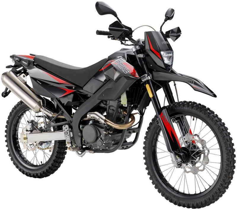 PRIKE Motorrad »PXE 125 Enduro«, 125 ccm, 102 km/h, Euro 4, Tageszulassung 11/20