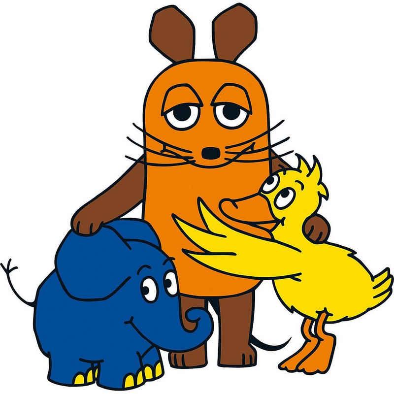 Die Maus Wandtattoo »Wandtattoo Sendung mit der Maus, Maus / Elefant«