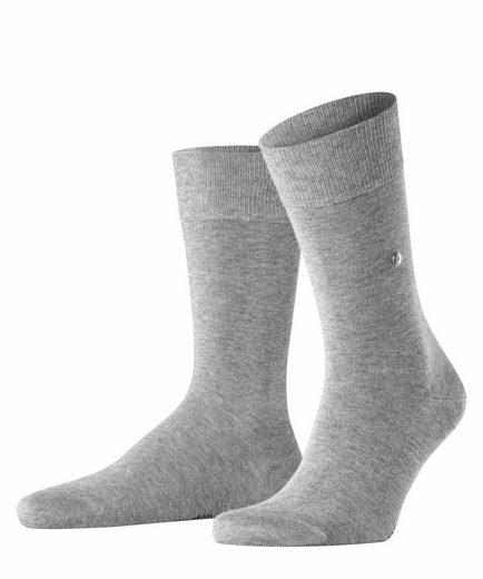 Burlington Socken »Lord« (1-Paar) aus weicher gekämmter Baumwolle