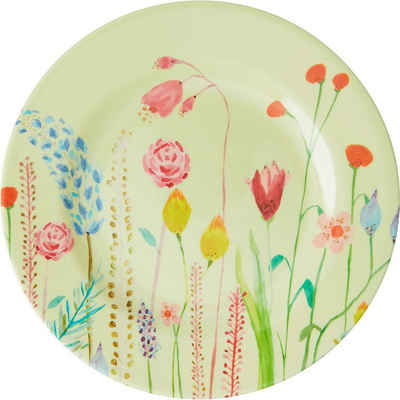 "rice Frühstücksteller »Melamin Teller ""Summer Flowers"", Ø20cm«"