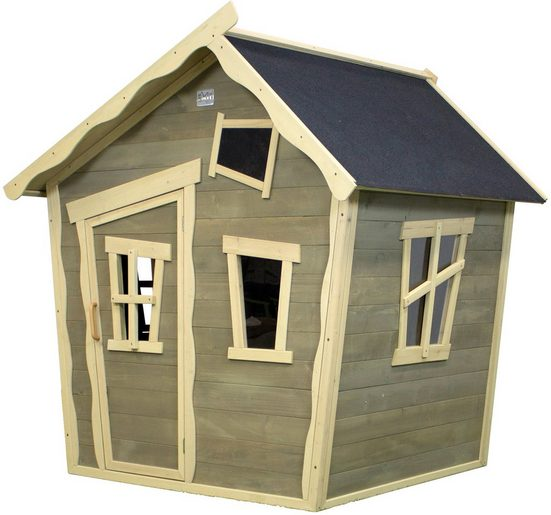 EXIT Spielhaus »Crooky 100«, B/T/H: 163/145/169 cm