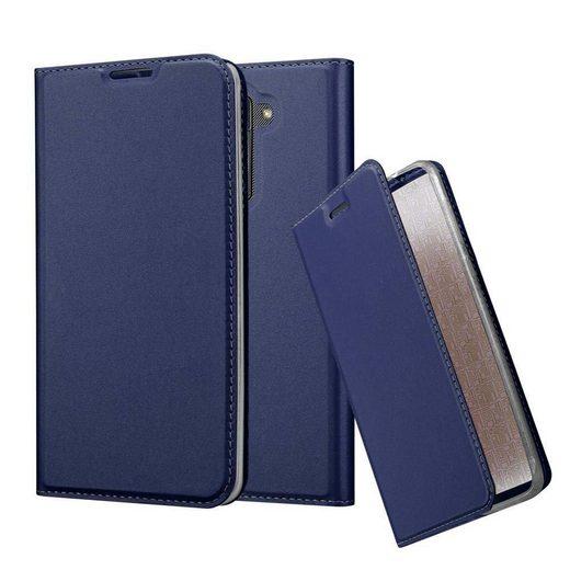 Cadorabo Handyhülle »Hülle case cover für« LG Stylus 2, Magnetverschluss, Standfunktion und Kartenfach, Kunstleder, Klapphülle