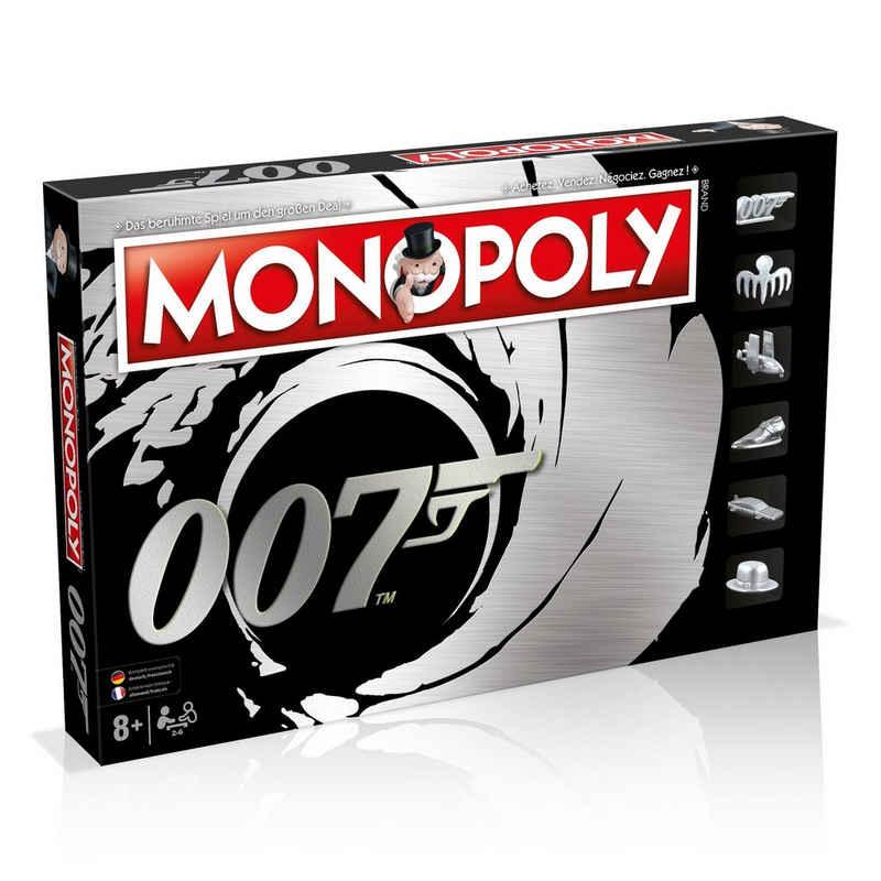 Winning Moves Spiel, Brettspiel »Monopoly James Bond 007 Deutsch / Französisch«