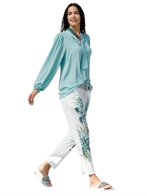 Hosen - Amy Vermont Jogger Pants mit floralem Muster im Vorderteil ›  - Onlineshop OTTO