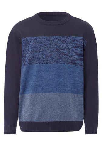 Classic Megztinis apvalia iškirpte »Pullover«