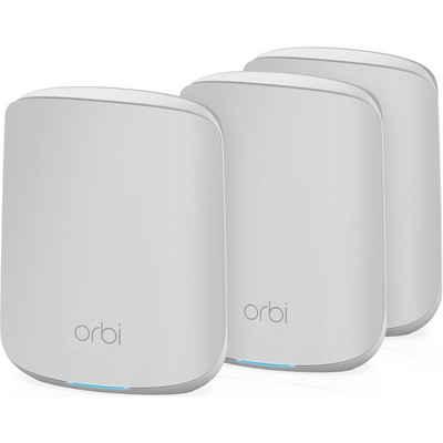 NETGEAR »Orbi RBK353 WiF-6, 1x Router, 2x Satellit« WLAN-Router