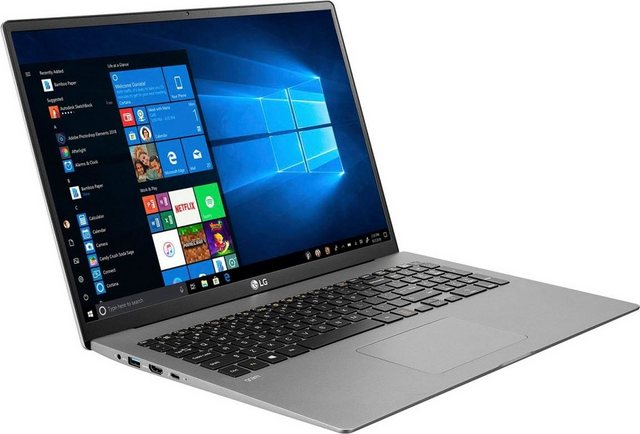 LG gram 17, Ultraleichtes Notebook 43,18 cm 17 Zoll, Intel Core i7, Iris Plus Graphics, 1000 GB SSD, 16 GB DDR4-RAM