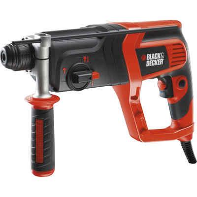 Black + Decker Bohrhammer »Bohrhammer KD985KA, Koffer, 800 Watt«
