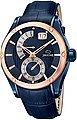 Jaguar Chronograph »UJ815/A Jaguar Herren Uhr Fashion J815/A Leder«, (Analoguhr), Herren Armbanduhr rund, Lederarmband blau, Fashion, Bild 1