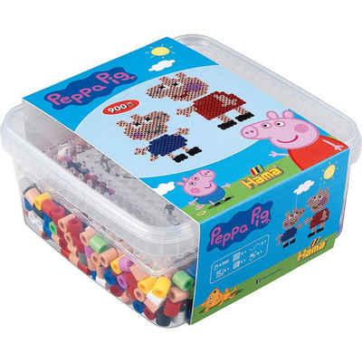 Hama Perlen Bügelperlen »HAMA 8746 Perlen-Box Peppa Pig, 900 maxi-Perlen &«