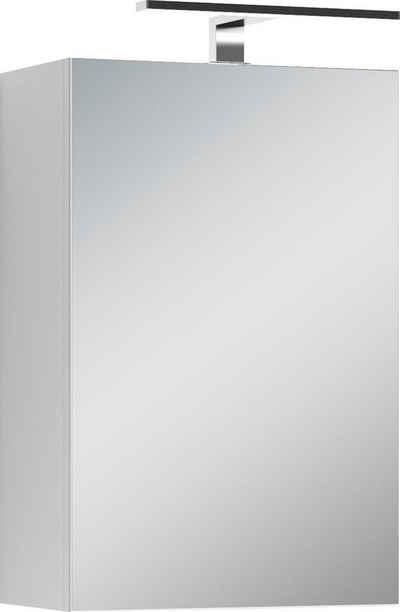 Homexperts Spiegelschrank »Salsa« Breite 40 cm, mit LED-Beleuchtung & Schalter-/Steckdosenbox