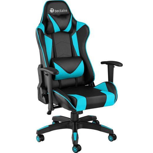 tectake Gaming-Stuhl »Premium Racing Bürostuhl Twink« (1 Stück), Kopf- und Lendenkissen