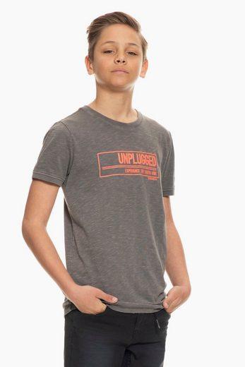 Garcia T-Shirt mit Textaufdruck