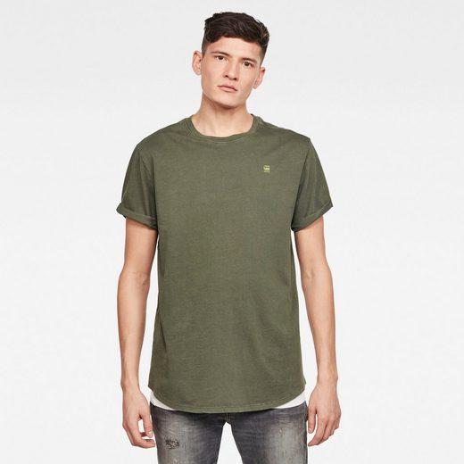 G-Star RAW T-Shirt »Lash« mit kleinem Logo Stitching