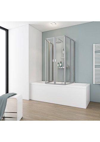 Schulte Badewannenaufsatz »6-tlg.« Kunststoff ...