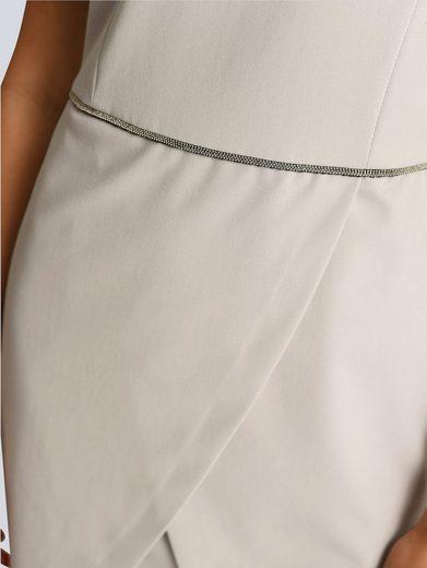 Alba Moda Kleid mit dekorativem Schmuckband in der Taille