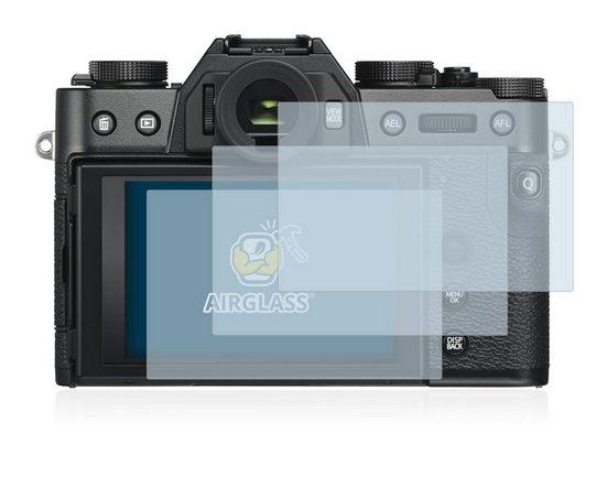 BROTECT Schutzfolie »Panzerglasfolie für FujiFilm X-T30«, (3 Stück), Schutzglas Glasfolie klar