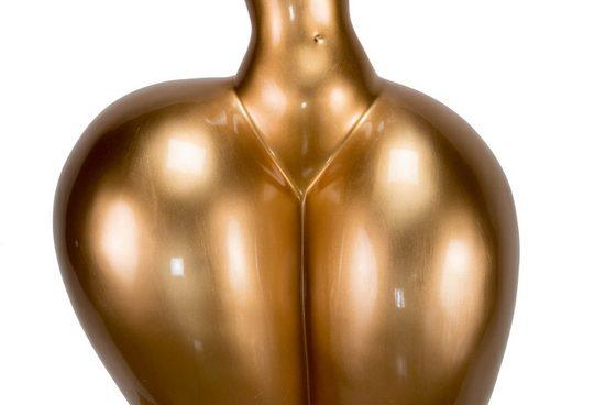 KUNSTLOFT Dekofigur »Curvy Lines«  handgefertigte Figur aus Kunststein