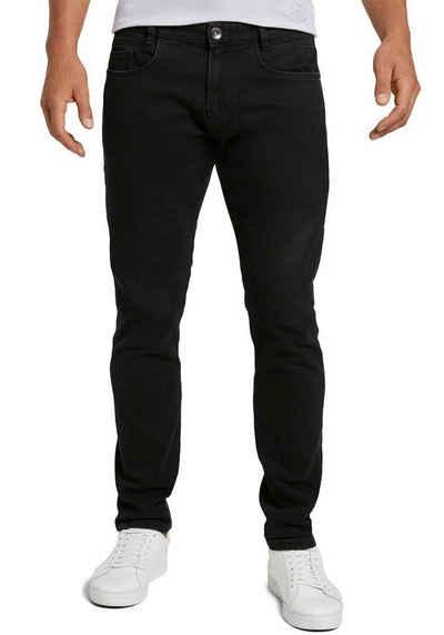 TOM TAILOR Slim-fit-Jeans »TROY« unifarben