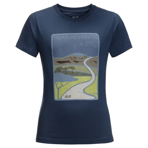 Jack Wolfskin T-Shirt »TREASURE HUNTER T KIDS«