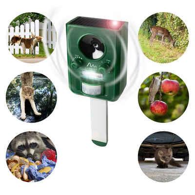 Gardigo Ultraschall-Tierabwehr »Solar Tier Vertreiber«, einstellbar für verschiedene Tiergruppen
