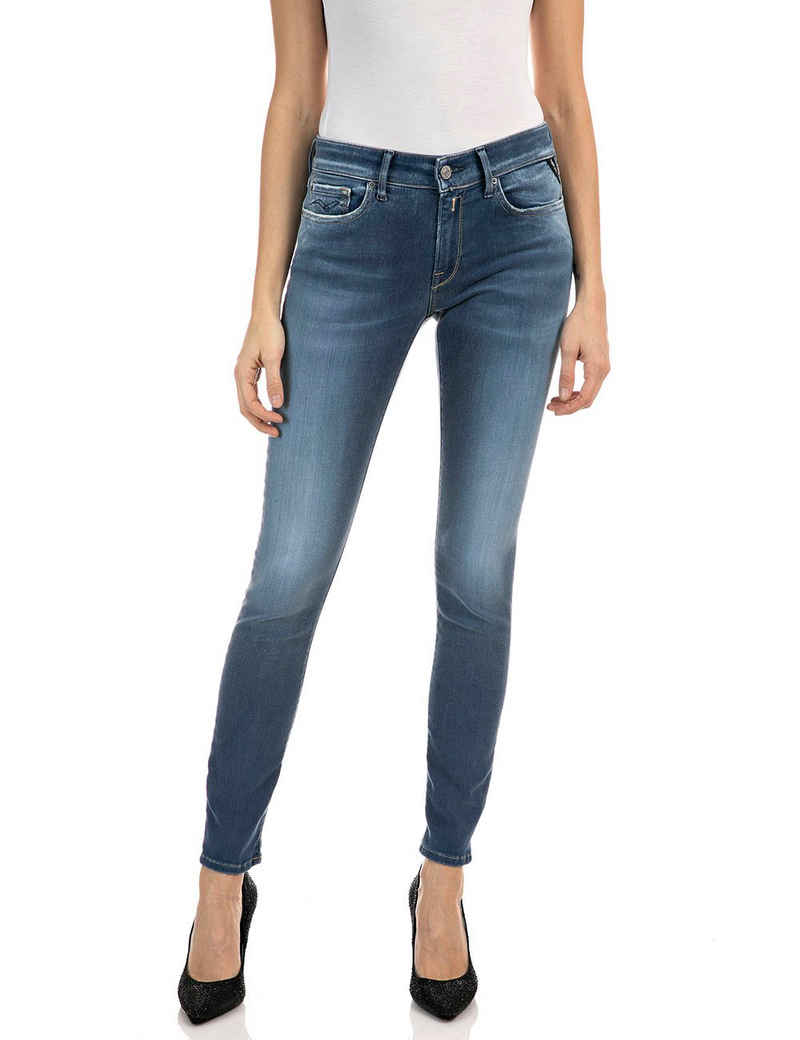 Replay Skinny-fit-Jeans »New Luz« dezenter Used-Look im 5-Pocket-Style