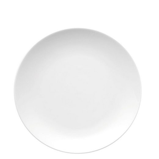Thomas Porzellan Speiseteller »Medaillon Weiß Speiseteller 26 cm«, (1 Stück)