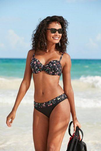 LASCANA Bikini-Hose »Bloom«, im sommerlichen Design