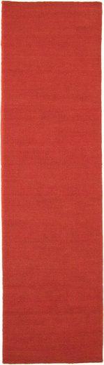 Läufer »KELIM FANCY UNI«, morgenland, rechteckig, Höhe 7 mm, Wendbar, Einfarbig, Uni