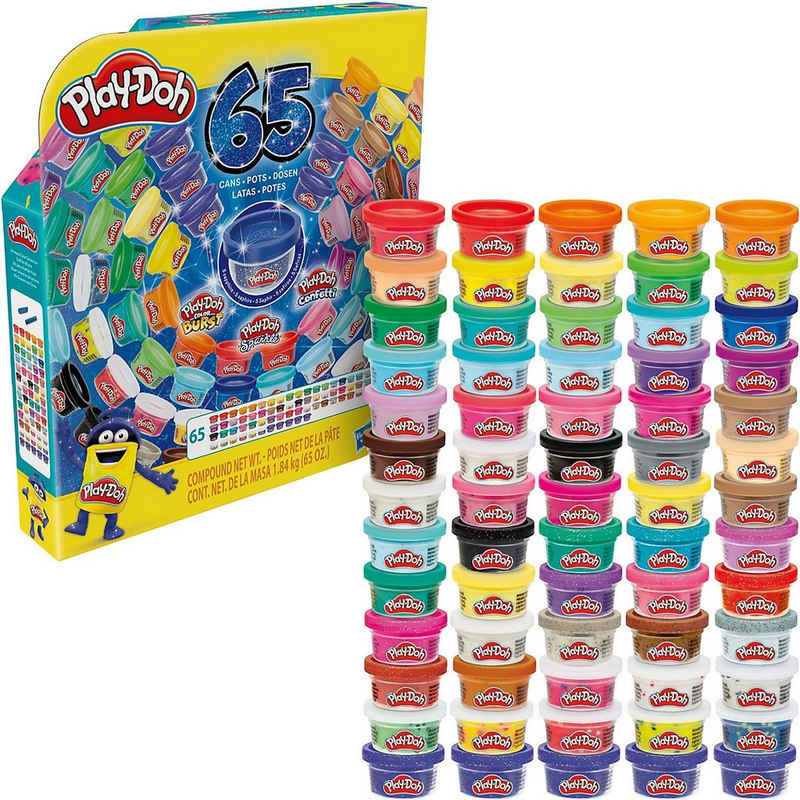 Hasbro Knete »Play-Doh 65 Jahre Vielfalt Pack für Kinder ab 3«