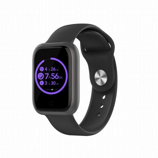 HOAIYO Smartwatch (Android 4.4 oder höher iOS 8.0 oder höher)