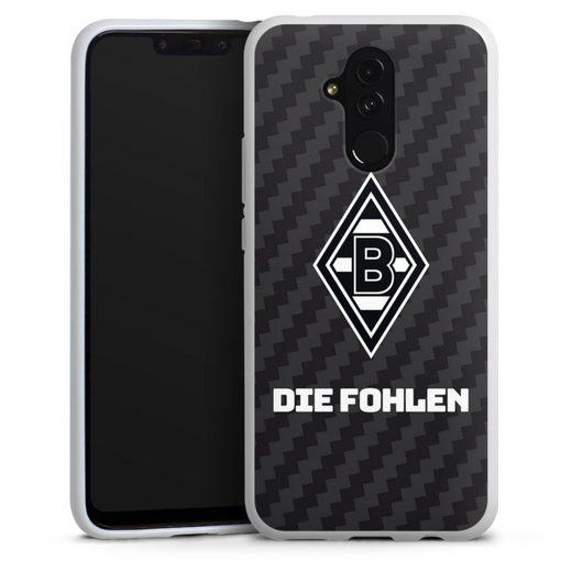 DeinDesign Handyhülle »Die Fohlen Carbon« Huawei Mate 20 Lite, Hülle Borussia Mönchengladbach Carbon Gladbach